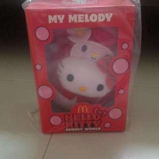 "MCD Hello Kitty ""My Melody Plush Toy"""