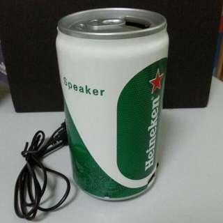 QYOP: Heineken Can Speaker
