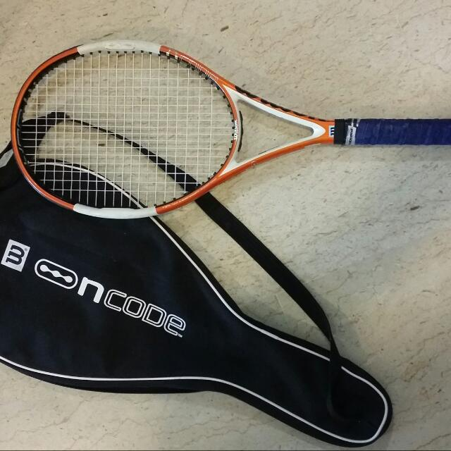 Wilson Ncode Tennis Rocket
