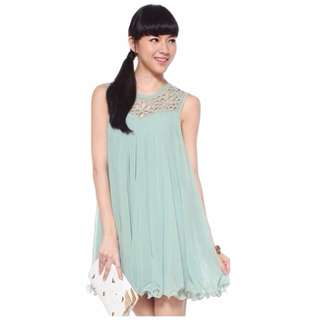 Love, Bonito: Darissa Dress in Beryl, Size S
