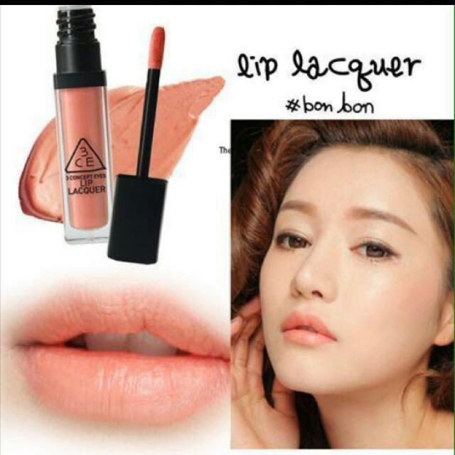 3CE Lip Lacquer In Bonbon