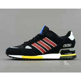 Adidas ZX 750 - Black / Yellow / Red