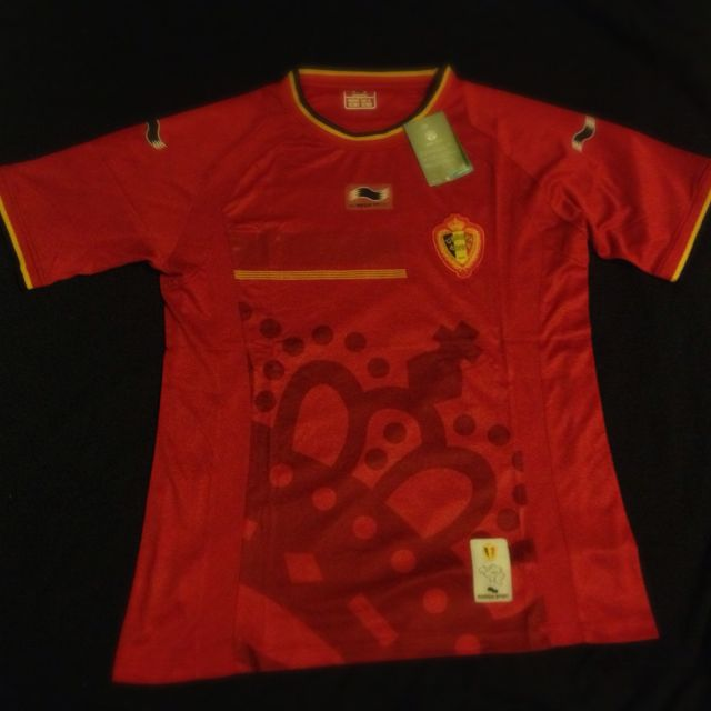 separation shoes af8d2 bb7c2 Belgium World Cup 2014 Home Jersey, Sports on Carousell