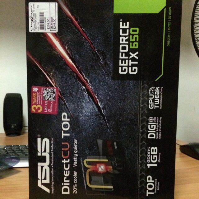 BRAND NEW Asus Nvidia Gaming Graphic Card