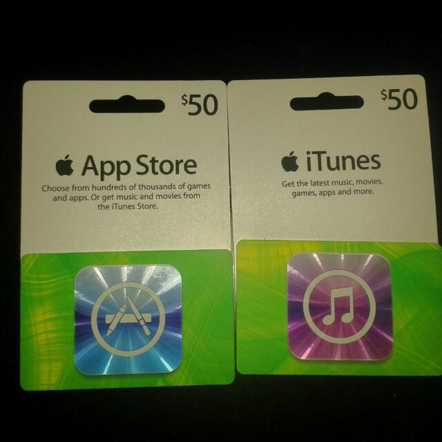iTunes Card Or App Store Card