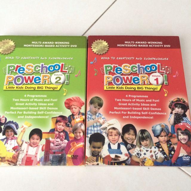 Pre School Power Dvd