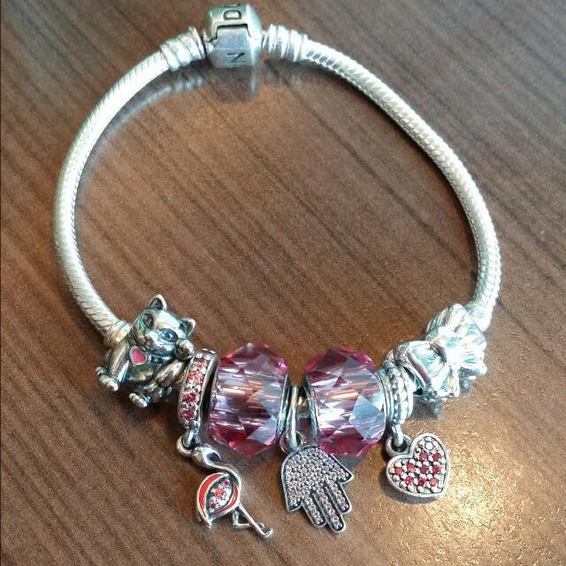 PENDING Swarovski Pandora Compatible Charm, Luxury, Bags & Wallets ...