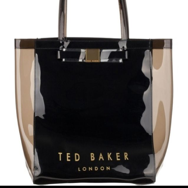 661d1ca038 Ted Baker Tricon Plain Bow Large Icon Bag, Luxury on Carousell