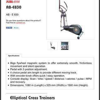 AIBI Gym Elliptical Cross Trainer