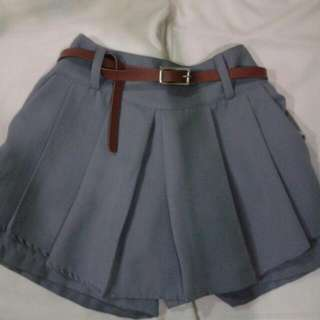 FREE Belt + Pleated Skorts