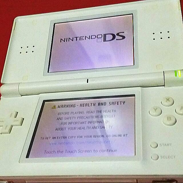 Nintendo Ds Lite White Games Electronics On Carousell