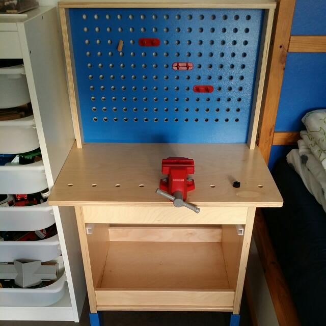 Enjoyable Reduced To 50 Ikea Duktig Kids Work Bench Babies Kids Gmtry Best Dining Table And Chair Ideas Images Gmtryco