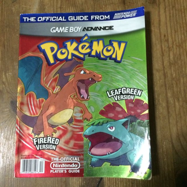 Free: pokémon fire red and leaf green guide book other video.