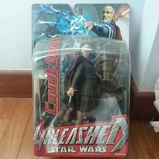 Starwars Unleashed COUNT DOOKU