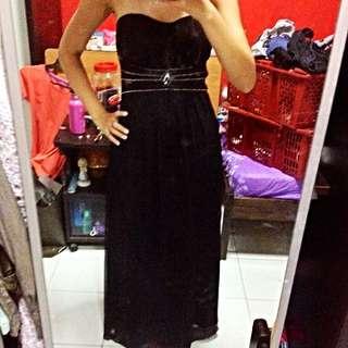 LB Bejeweled Maxi Dress
