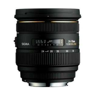 Sigma 24-70mm F2.8 IF EX DG HSM (Nikonmount)