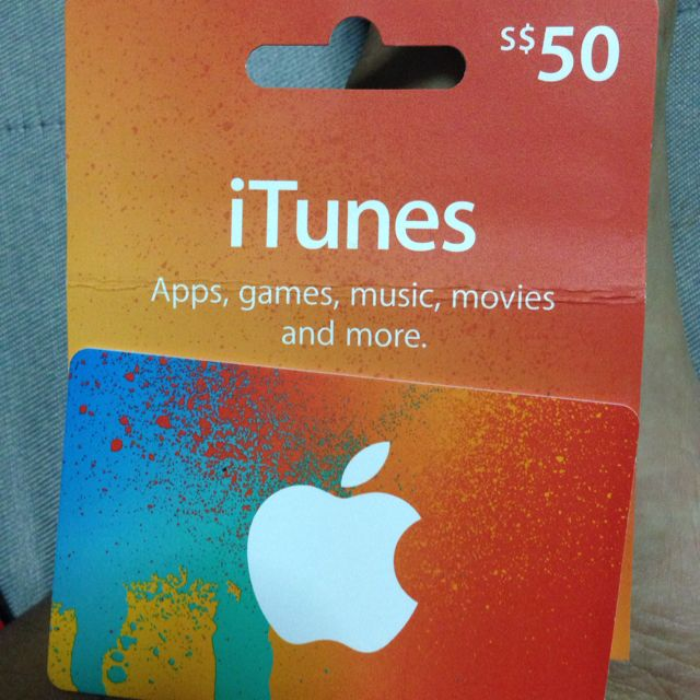 50$ ITunes Gift Card