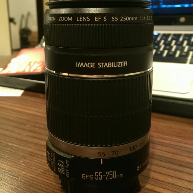 Used CANON EFS 55-250mm f/4-5.6 IS
