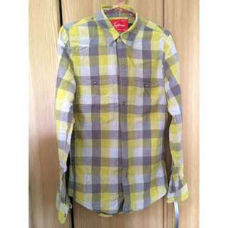 Topman Plaid Shirt