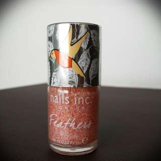 BN Sealed Nails Inc. Feather Effect Nail Polish In York