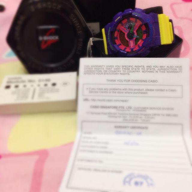 BNIB G Shock GA110 HC-6A