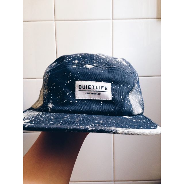 d69aa7ffd33 the quiet life navy cosmos 5 panel camp cap