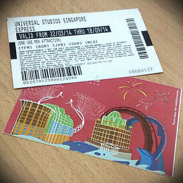 Universal Studios Singapore Express Pass