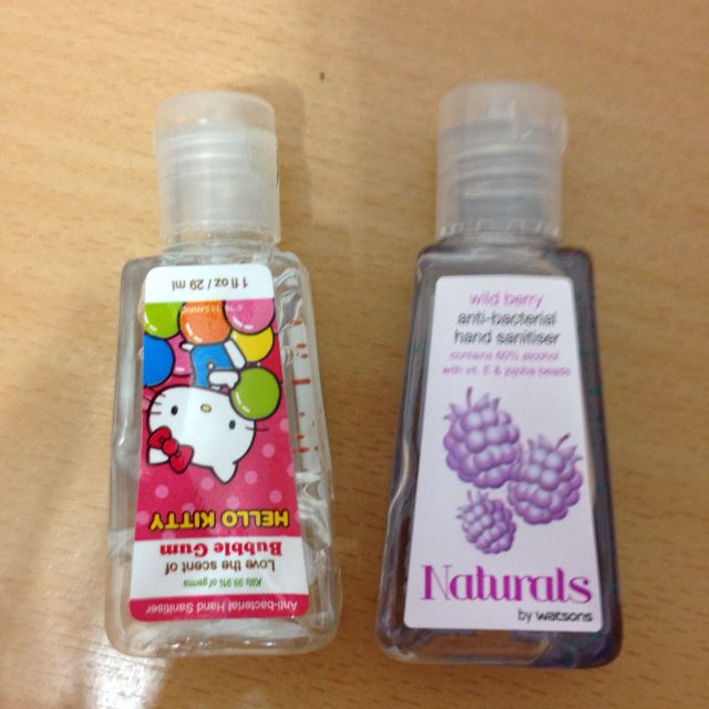Used Hand Sanitizer