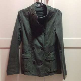Army Green Coat Cotton On
