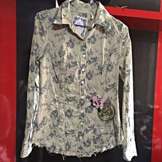 Pre Loved Guess L/S Shirt