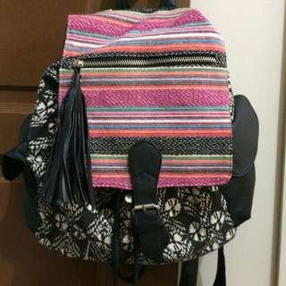 (sale) Cottonon Tribal Cotton Backpack
