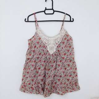 CO Pink Floral Cami