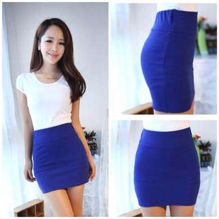 Blue Pencil Skirt *BRAND NEW*
