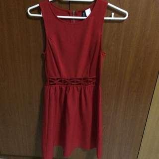 *reducedI *BN Hnm Red Dress
