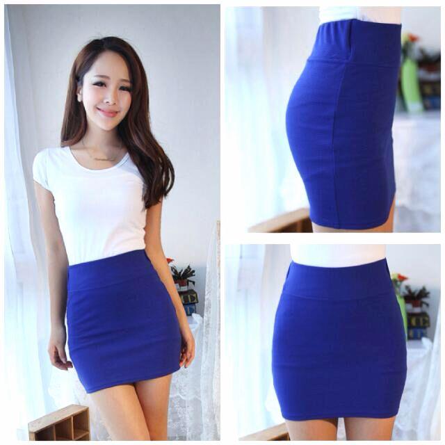 Blue Pencil Skirt *BRAND NEW*