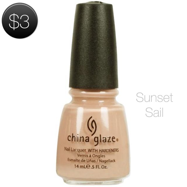 China Glaze Nail Lacquer Sunset Sail