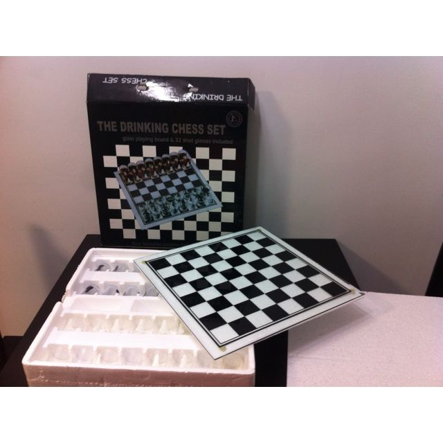 Drinking Chess Set