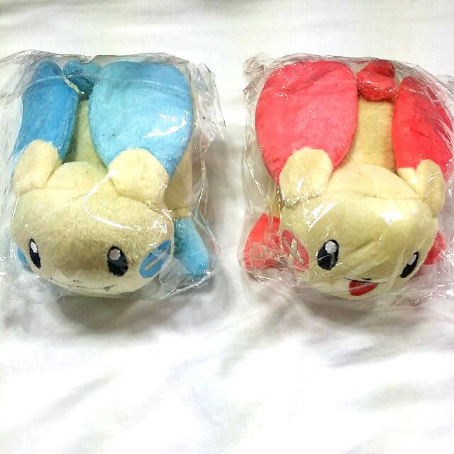 Pokémon Plushies: Plusle And Minun