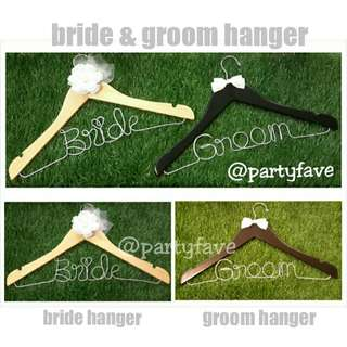 Bride And Groom Hanger