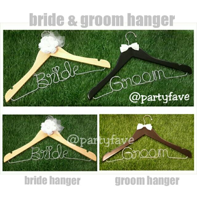 Bride And Groom Hanger