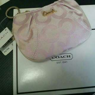 《Flash Deal》 COACH ( AUTHENTIC ) Pink Mini Coin Pouch.