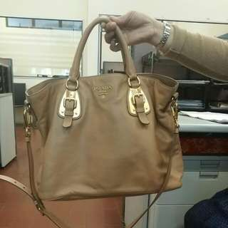 Prada Full Leather Totebag   (Reduced From $750)