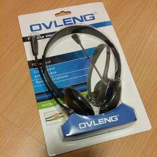 Oveleng Full Size Stereo PC Headset