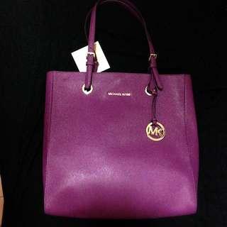 Michael Kors Jet Set item Tote (Purple)