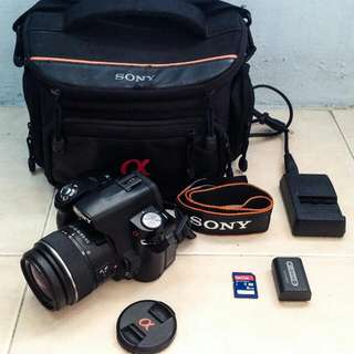 Sony Alpha-390 With Kit Lens 18-55mm
