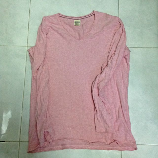 Uniqlo Pink Long Sleeves Sz Med