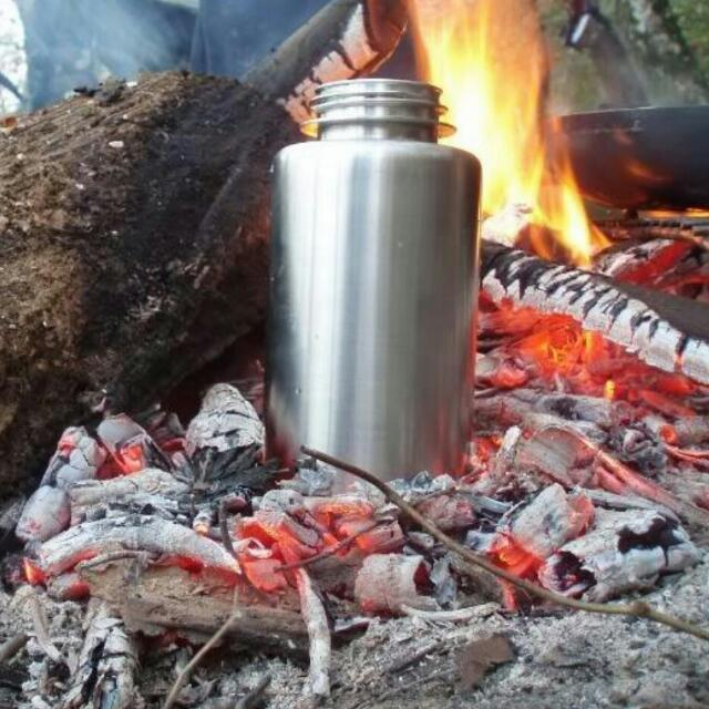 Guyot Stainless Steel Water Bottle (Single Wall 18/10 Surgical Grade Stainless Steel)