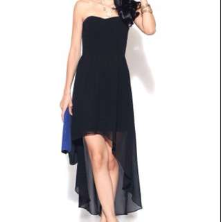 REDUCED BN Love Bonito Black High Low Dress