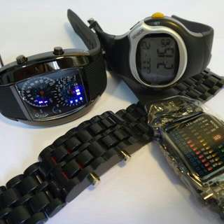 LED Watches From $19.90