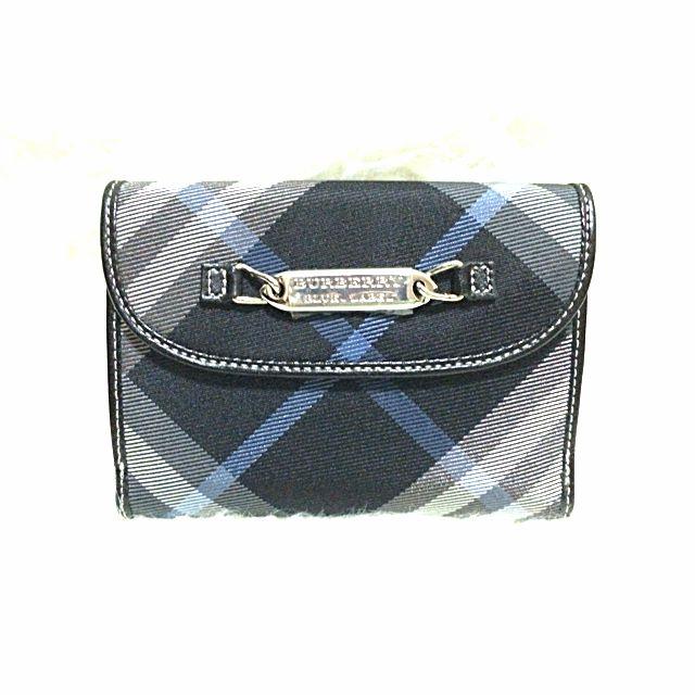 1f826e239fc9 BURBERRY Blue Label Short Wallet